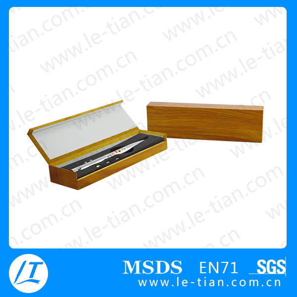 GB-100 OEM logo souvenir gift promotion pen with Wood box