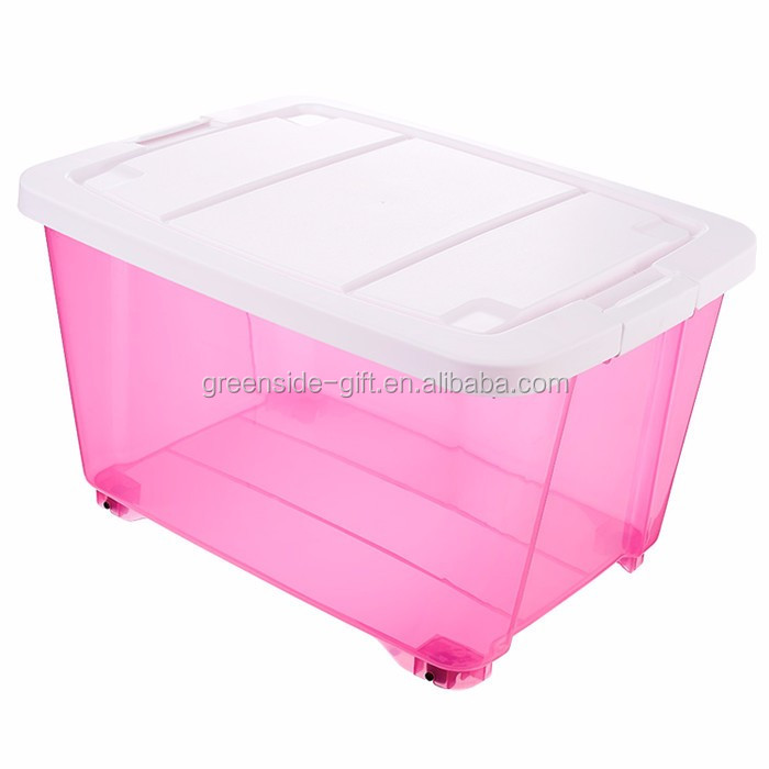 Greenside Promotional waterproof plastic storage box with lock