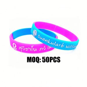 Soft Silicone Rubber Wristband/Armband/Girls Party Hand Band With Custom Fashion Hand Bands