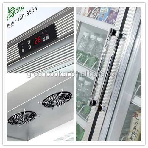 shop commercial glass door refrigerator freezer glass door chiller glass door freezer