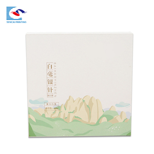 Promotion gift folding rigid paper packaging box for apparel