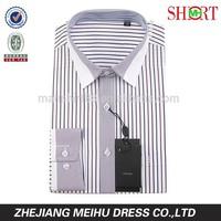 Custom square collar latest fashion dresses mans casual dress shirts