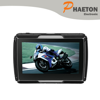 4.3Inch Motocycle GPS Navigator Wince 6.0 Vehicle Car Electronics ARM Cortex A7 800MHz 128DDR3 8GB FM Bluetooth 1200mAh w-40