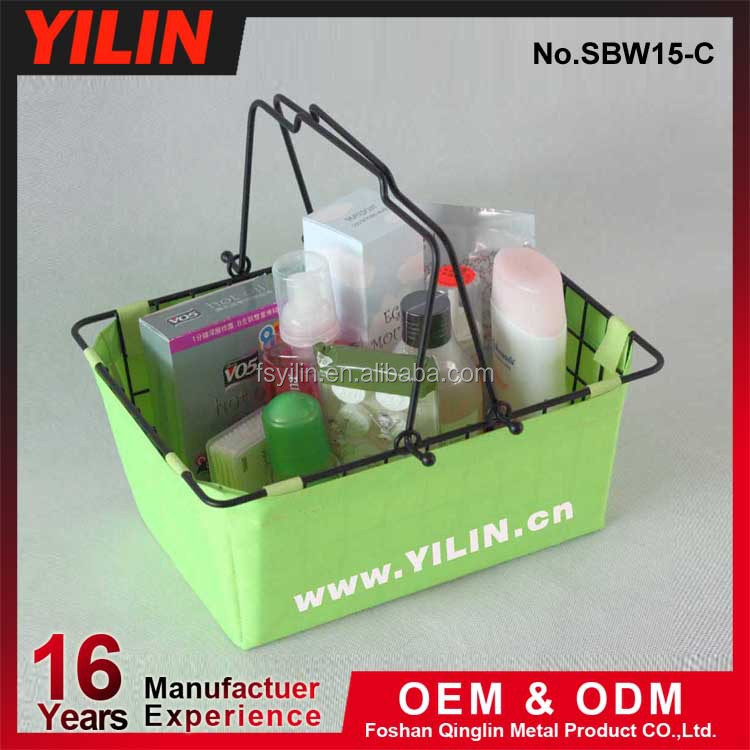 cosmetic shopping basket