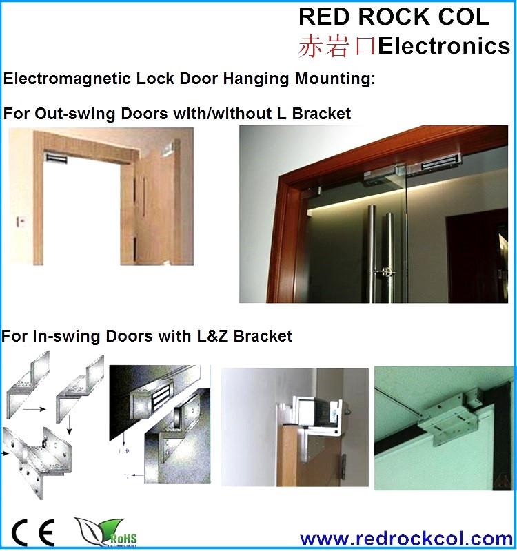 280KG/600lbs hidden em electromagnetic door lock RRC-280GF  sc 1 st  Alibaba & 280kg/600lbs Hidden Em Electromagnetic Door Lock Rrc-280gf - Buy Em ...