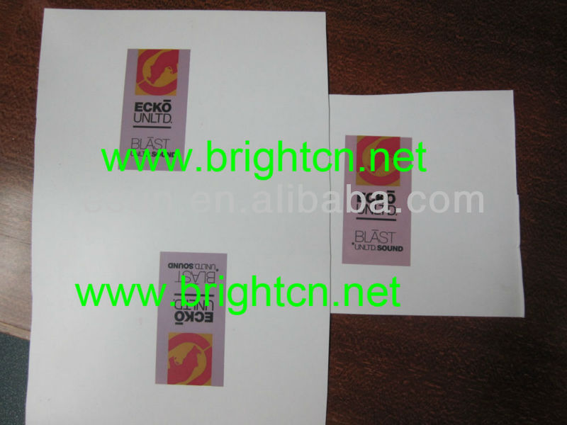 Biodegradable printable advertisement plastic PLA sheet
