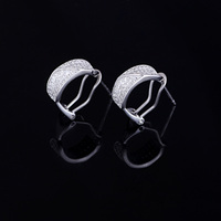 china Factory supplier direct silver clip earring for men online
