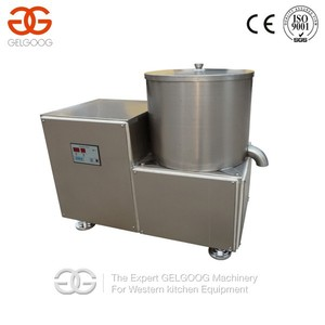 Stainless Steel Centrifugal Food Water Removal Machine|Washed Lettuce/Potato Chips Dehydrator/Water Remover