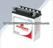 6N2-2A-4 Black Lid Dry Charged Motorcycle Battery.