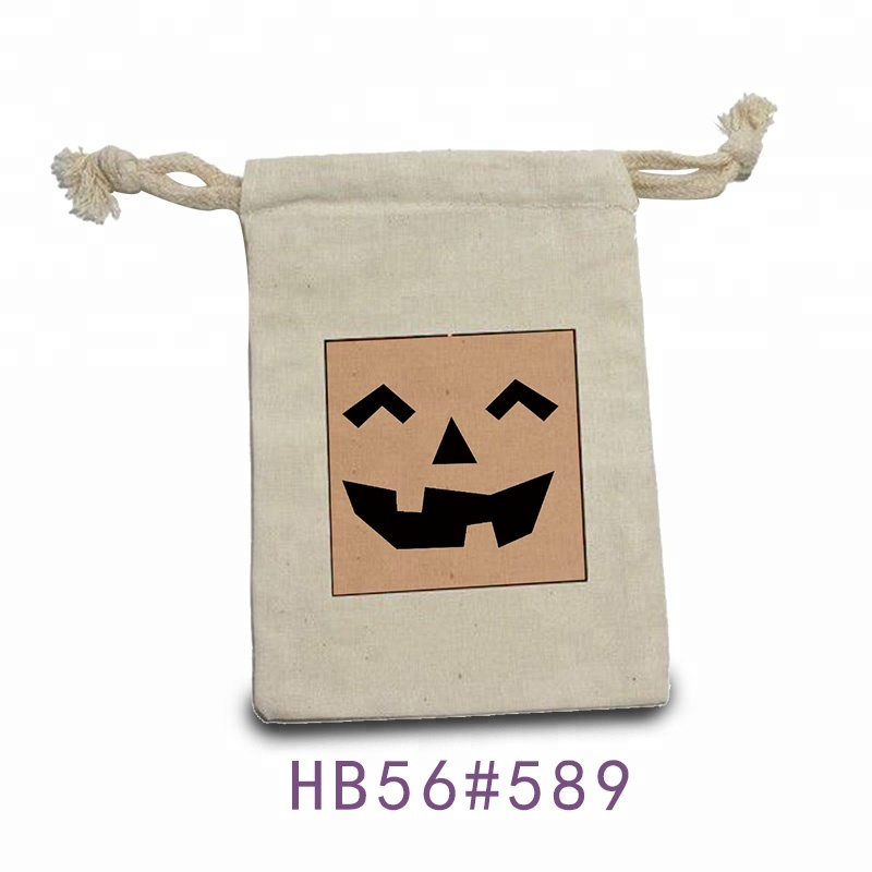 Wholesale Custom logo printed natural linen jute flax cloth drawstring sack cotton bag for <strong>promotion</strong>