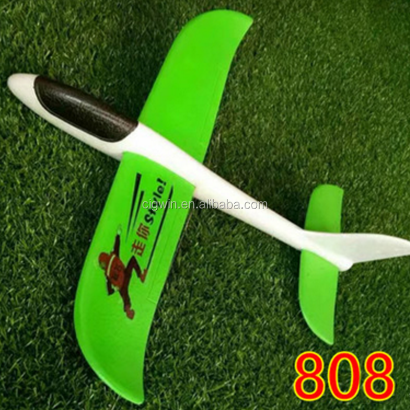 2017 Hot selling Flying toys for kids Hand throwing air plane model hand launch EPP foam gliders plane toy
