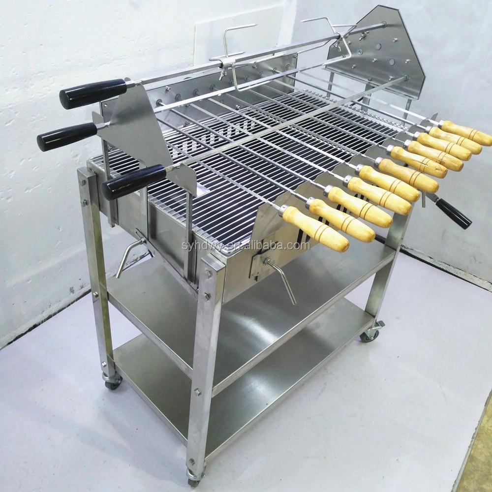 Gril Automatique De Barbecue De Bbq De Rôtissoire
