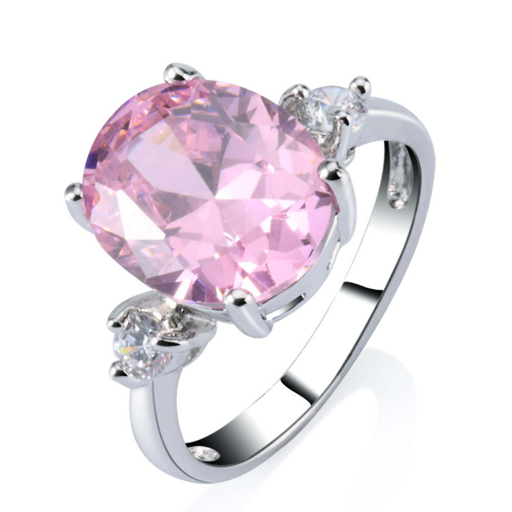 Cubic Pink Zircon Ring, Cubic Pink Zircon Ring Suppliers and ...