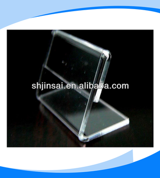 Promotional Transparent Plastic Acrylic Display Stand