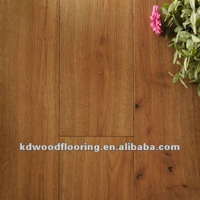Wire brushed smoked multi-layer oiled oak wood floors