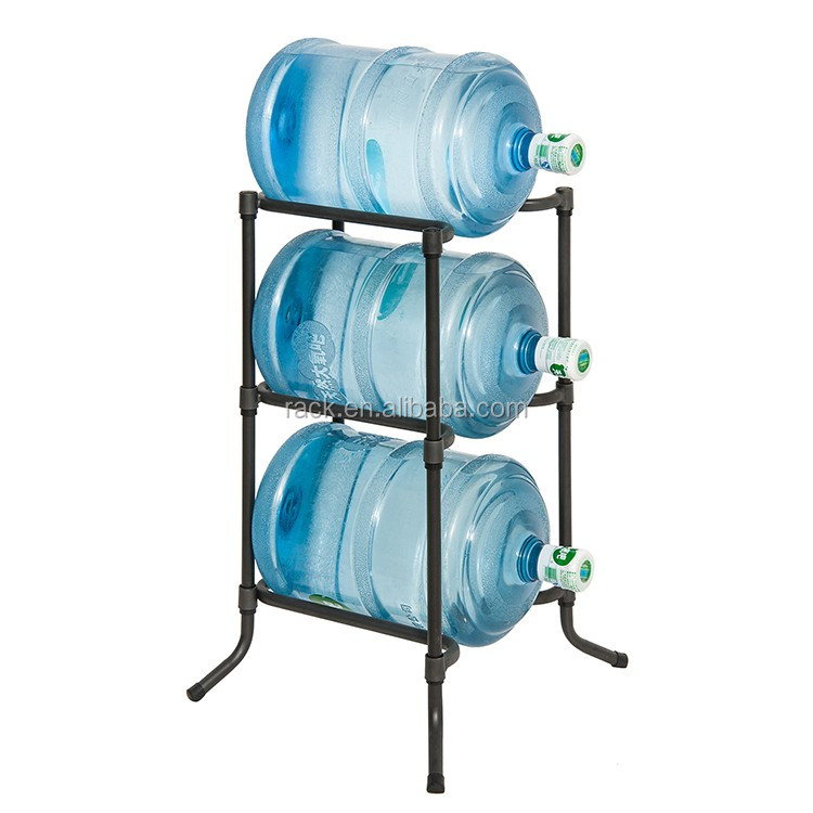 Hot Selling Metal Water Bottle Rack And Water Bottle Stand