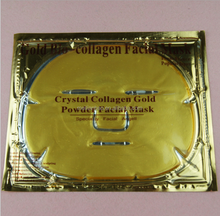 100% pure collagen 24k gold facial mask , Gold collagen crystal face mask . pure collagen mask