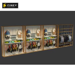 Modern Clothing Slatwall Display Rack Supplieranufacturers At Alibaba