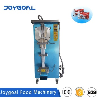 Shanghai JOYGOAL liquid milk filling packing machine