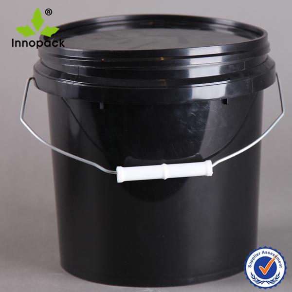 noir cheval de la nourriture alimentaire en plastique seau 10 litres avec couvercle vendre. Black Bedroom Furniture Sets. Home Design Ideas
