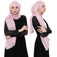 High Quality Muslim Hijab Fashion Scarf Malaysia Arab Prayer Shawl Sexy Hijab Women