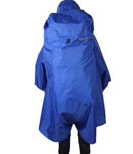 with backpack outdoor reusable rain poncho
