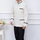 Factory Custom Best Hotel Housekeeping Service Staff Uniform