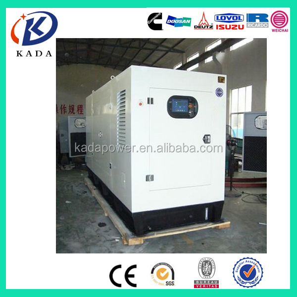 Single phase diesel engine 12kv generator set price
