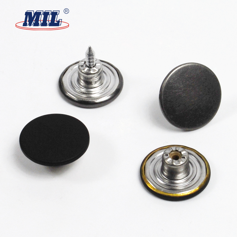 Customized cheap brass jeans button for fasten jacket