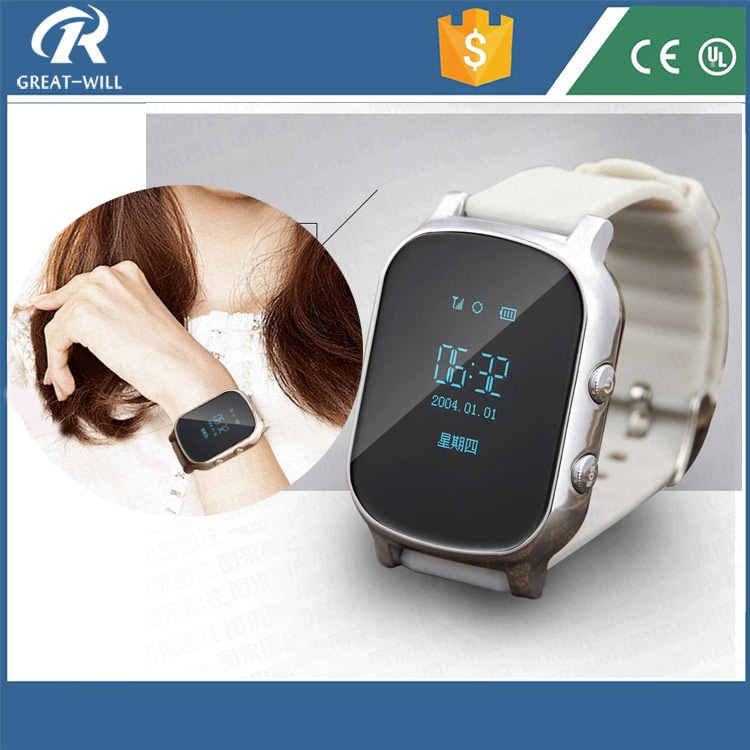 Voice Talkbalk cell phone wifi wrist watch gps tracking device for adults