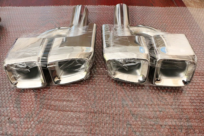 High Quality Auto  Exhaust Muffler Tips For Mercedes W212 E63