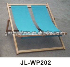 Double deck chairs twins beach chairs wood