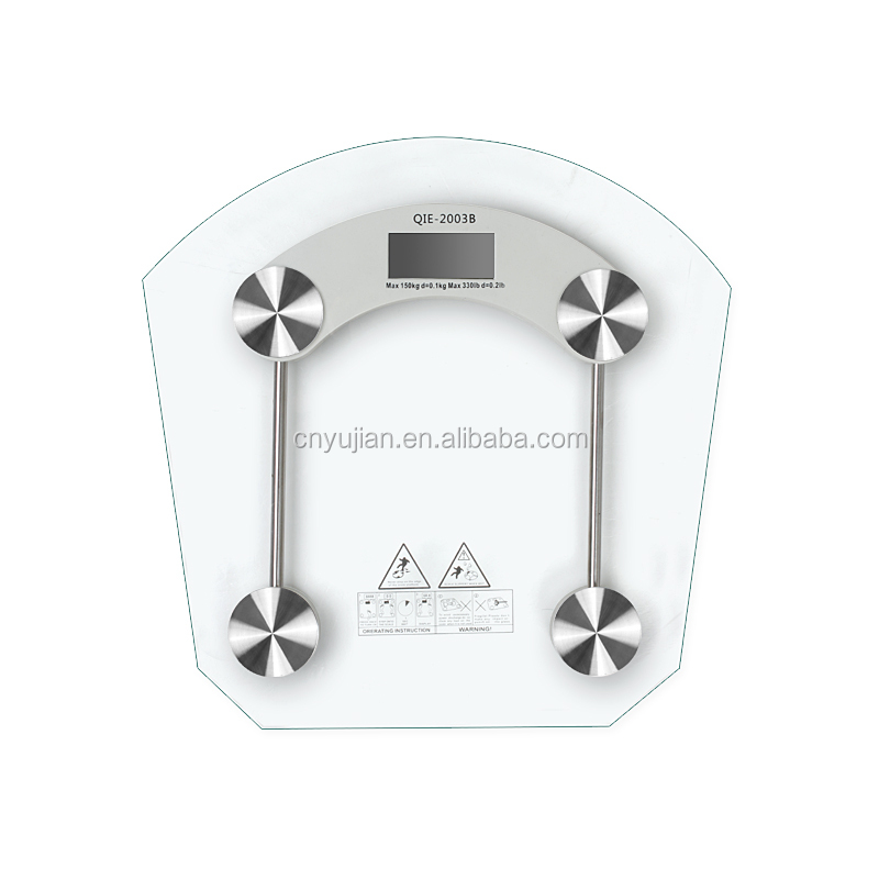 Hot selling electronic weighing scale,fan-shaped digital body scale,lcd display