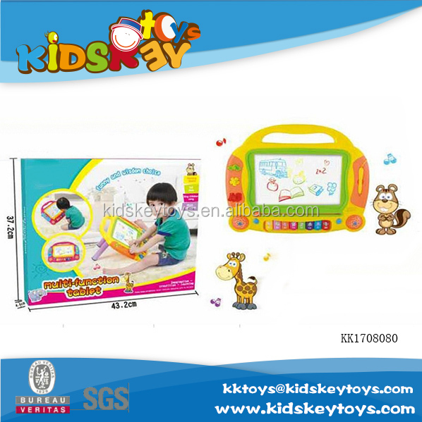 Music big drawing board educational kids writing tablet toys