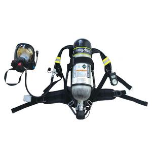 Fangzhan prime quality 6 L steel material cylinder self-contained breathing apparatus for rescue