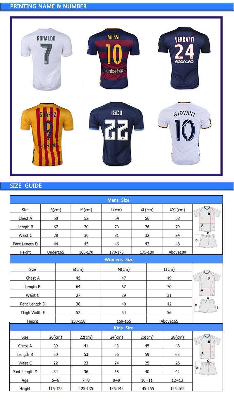 Custom wholesale sublimated professional blank football soccer jersey