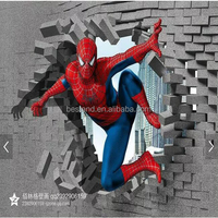 3D Customizable picture Marvel characters wall paper mural photo mural