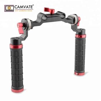 camvate 15mm rod clamp shoulder rig for dslr  soft rubber