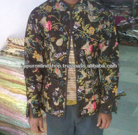 Winter Hand Made Quilted Coat,Handmade Cotton Kantha Reversible ...