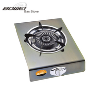 Energy saving iron with electric plating cast iron single gas ring burners