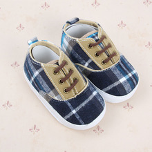 Anti-slip Soft Sole Sneakers 3-18M Baby Boy Girls Crib Shoes Faux PU Leather Cotton YRD