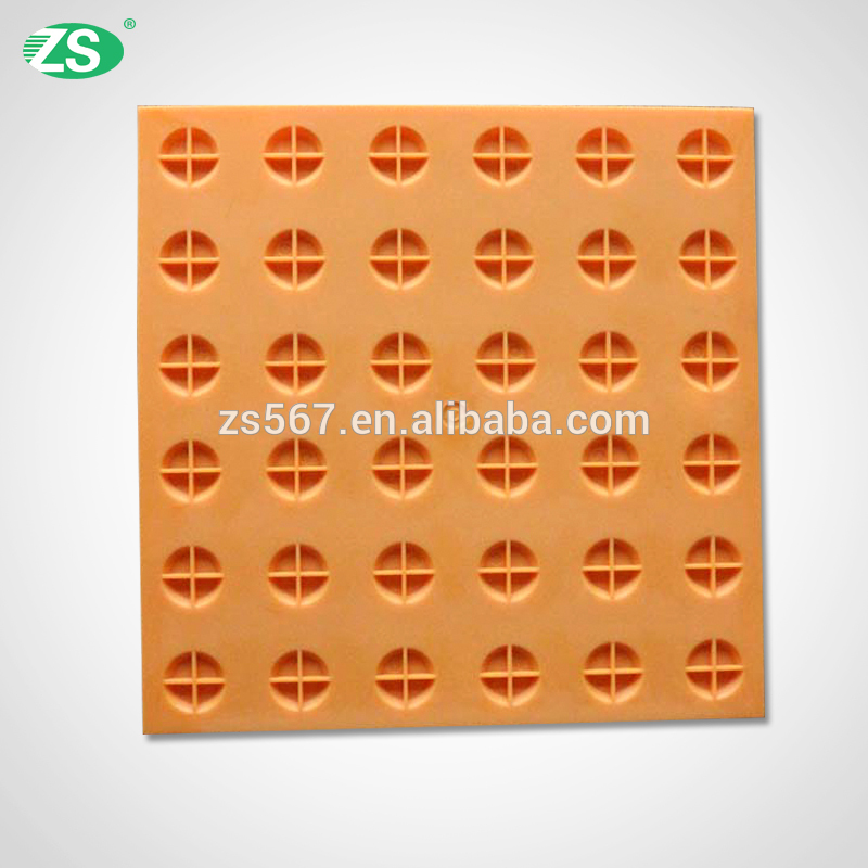 2019 New Developed Safety Guiding Tactile Floor Rubber <strong>Tiles</strong> For The Disabled Person