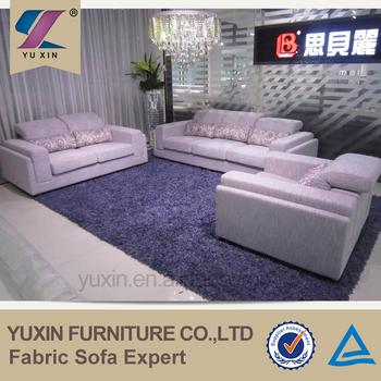 Sectional Livingroom Linen Sofa