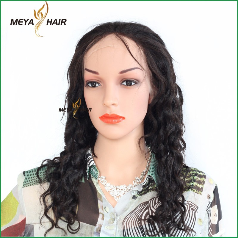 best sellers dev hair exports in India, beauty Indian virgin hair wig, Super quality 100% deep wave individual