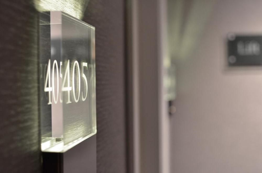Shibell cristal lumineux h tel inscrivez le num ro de for Numero de chambre hotel