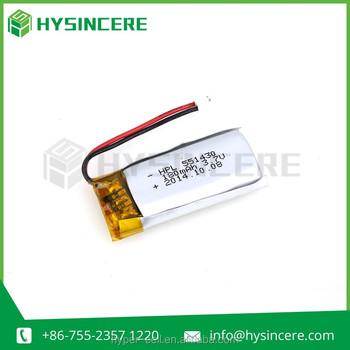 Hpl551430 3.7v 180mah Lithium Polymer Battery Li-ion Cell 180mah ...