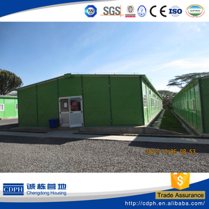 temporary K type house as modular homes,worker's dormitory,office building India Philippine,South East Asia countries