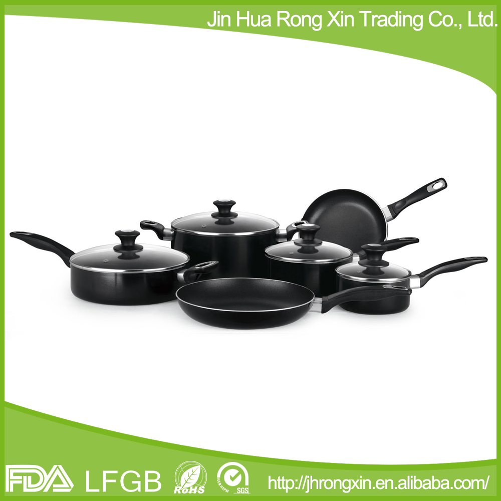 Visible tempered glass cover waterless cookware