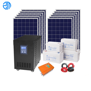 5kw -10kw Solar Power System Wind Solution of Solar Energy Systems for Home Use