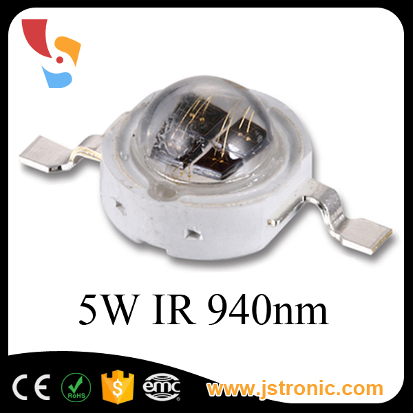 High Power Infrared 2 Or 4 Chips Inside Chip 5w 850nm Ir Led Diode - Buy 5w  850nm Ir Led,Led High Power Ir 850nm,High Power Ir Led Product on